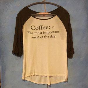 Coffee-Lovers Graphic Tee